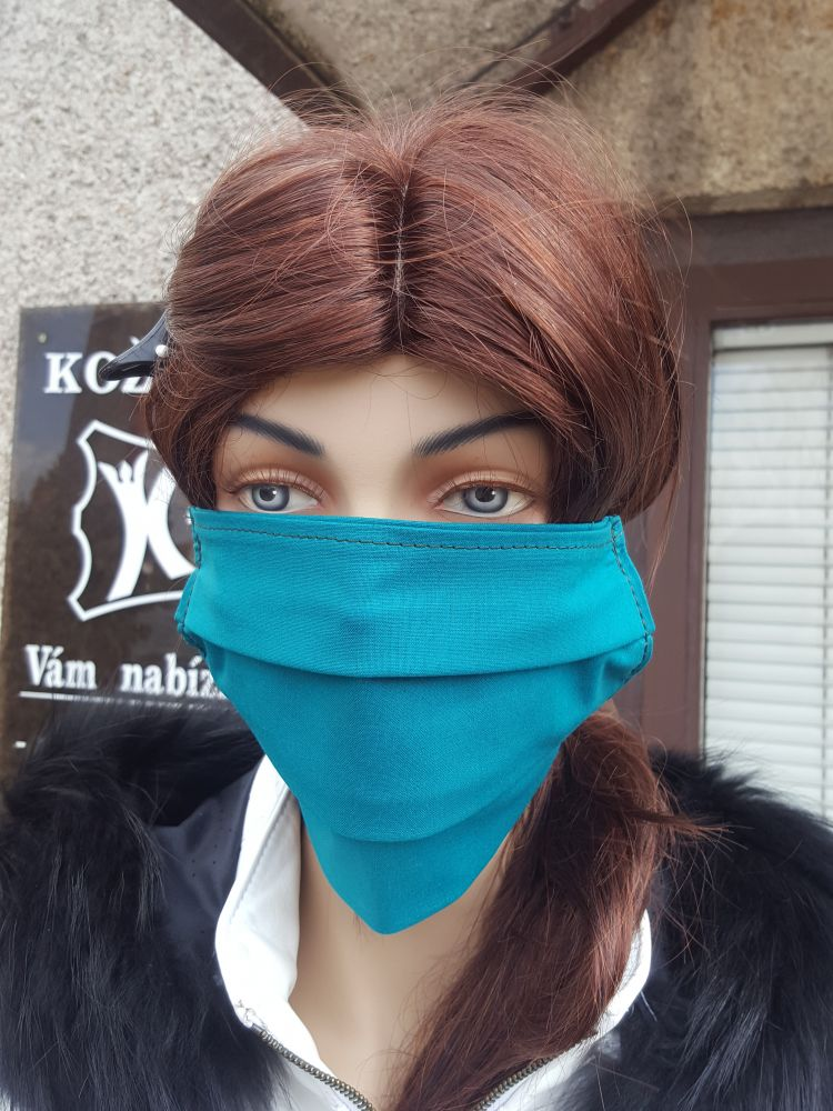 Two-layer Cotton Mask with Pocket
